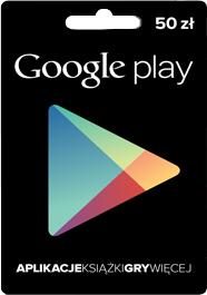 Kupon podarunkowy Google Play: 50zł, 100zł, 150zł